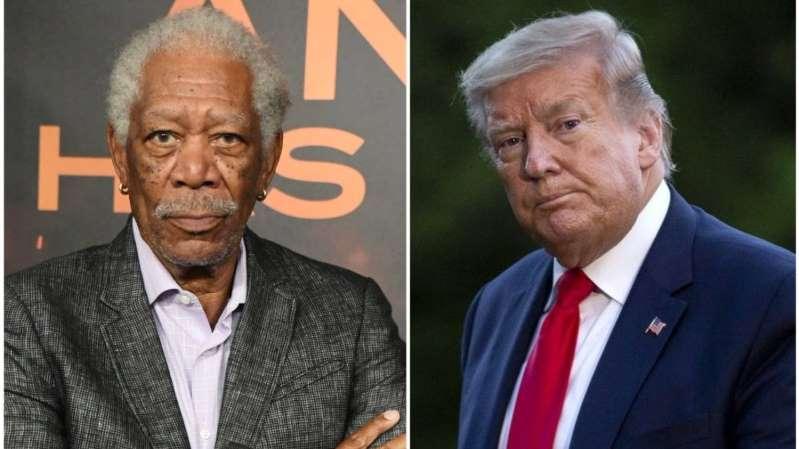 Morgan Freeman desata su furia en redes sociales contra Trump