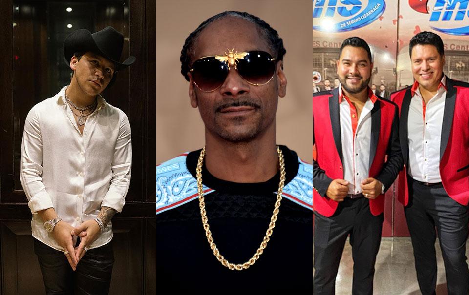 """Snoop Dogg desmiente a Nodal, """"Banda MS siempre fue la única opción"""