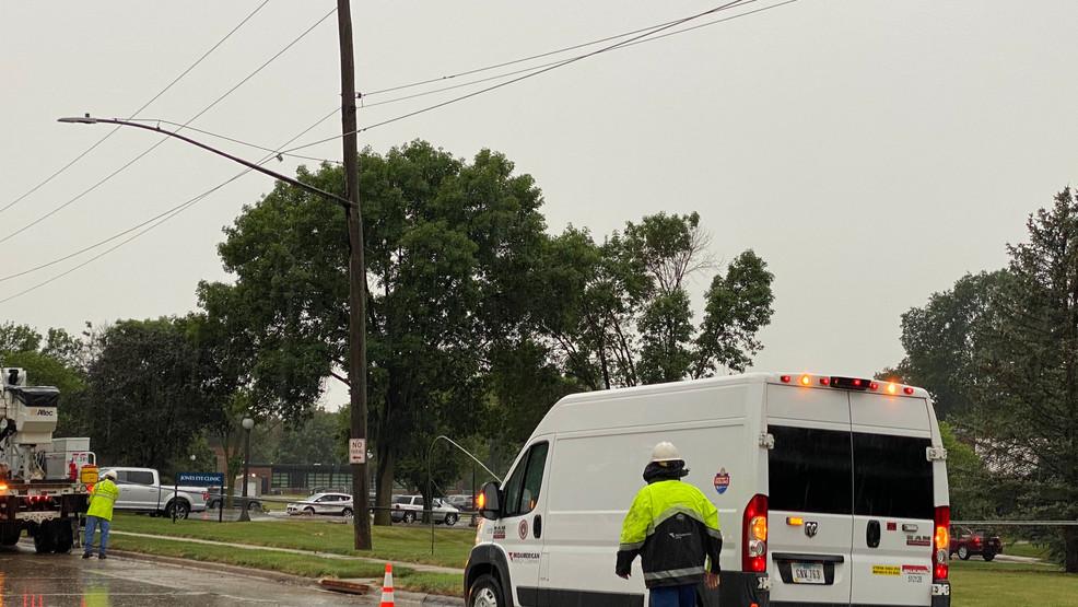 La tormenta del jueves por la mañana deja sin electricidad a cientos de personas en Sioux City