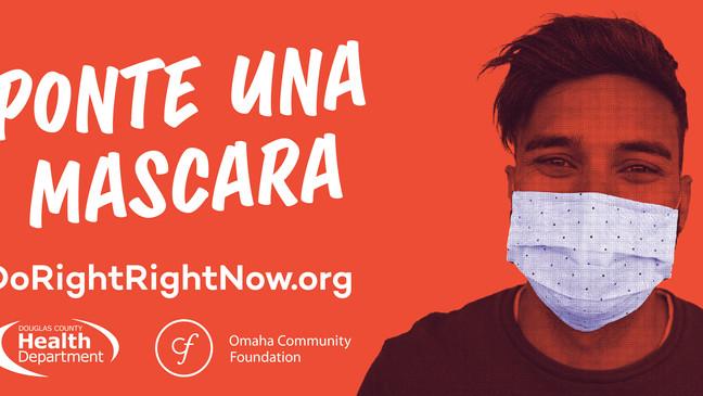 """""""Estamos en el momento más peligroso"""": se lanzó la campaña de educación COVID-19 en Nebraska"""