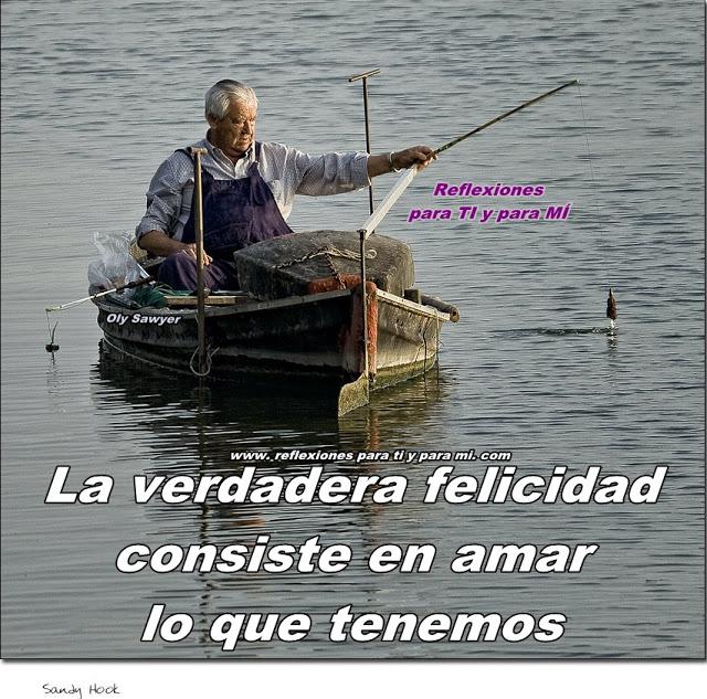 El Pescador Reflexion