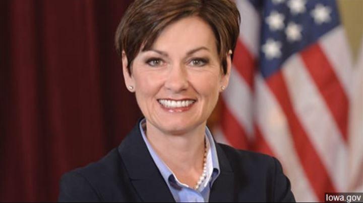 El gobernador de Iowa solicita información antes del discurso sobre la condición del estado el martes