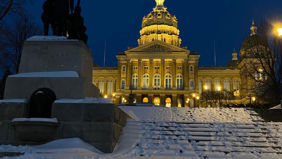 Seguridad pública consciente de las amenazas nacionales, sin preocupaciones inmediatas en Iowa State Capitol