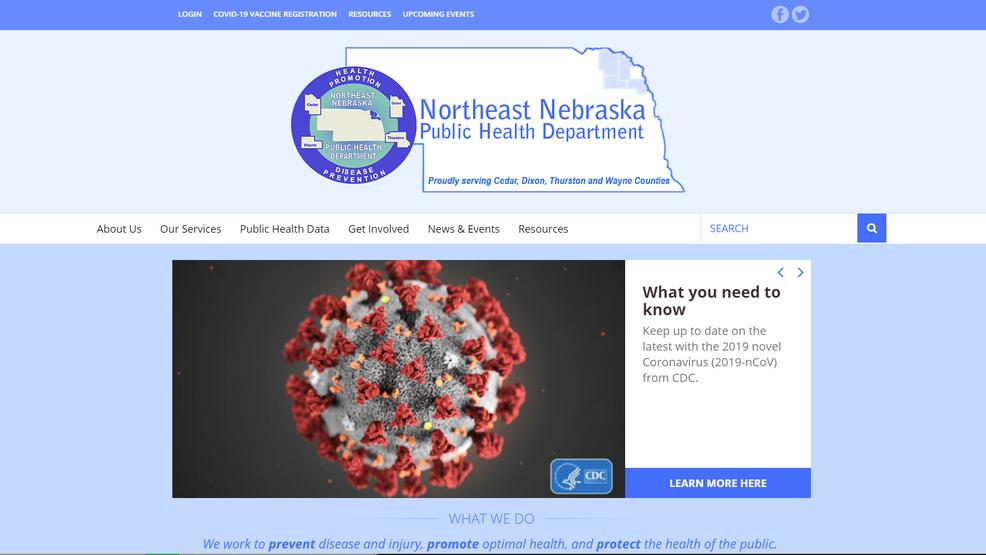 Nuevo portal que ayuda a NE Neb. Health District a distribuir las vacunas COVID-19 a todos los residentes