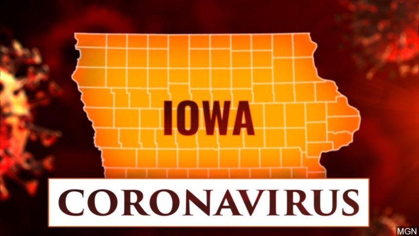 Iowa informa 647 casos adicionales de COVID-19, 13 muertes.