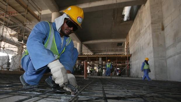 Más de 6.500 trabajadores extranjeros han muerto en Catar desde el inicio de las obras por el Mundial.